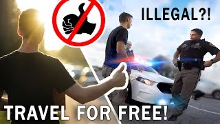 PER ANHALTER von NYC nach Florida | Hitchhiking the EAST COAST | Travel for free