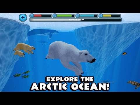 🐻👍Polar Bear Simulator #2r-Симулятор полярного медведя-By Gluten Free Games-IOS/Android