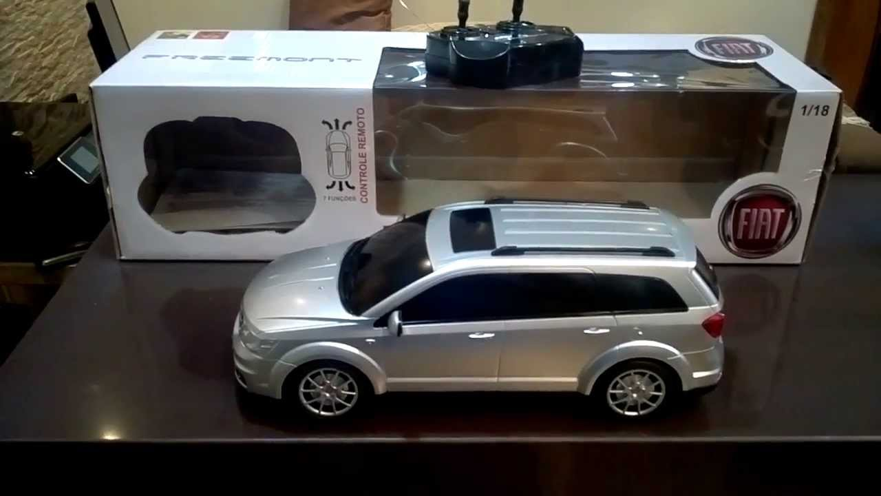 Carro de Controle Remoto Fiat Freemont 2013 - YouTube