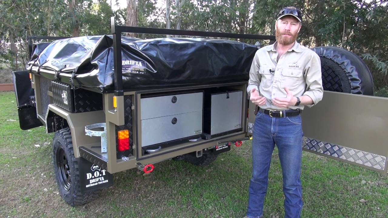 Camping Trailer Kitchen