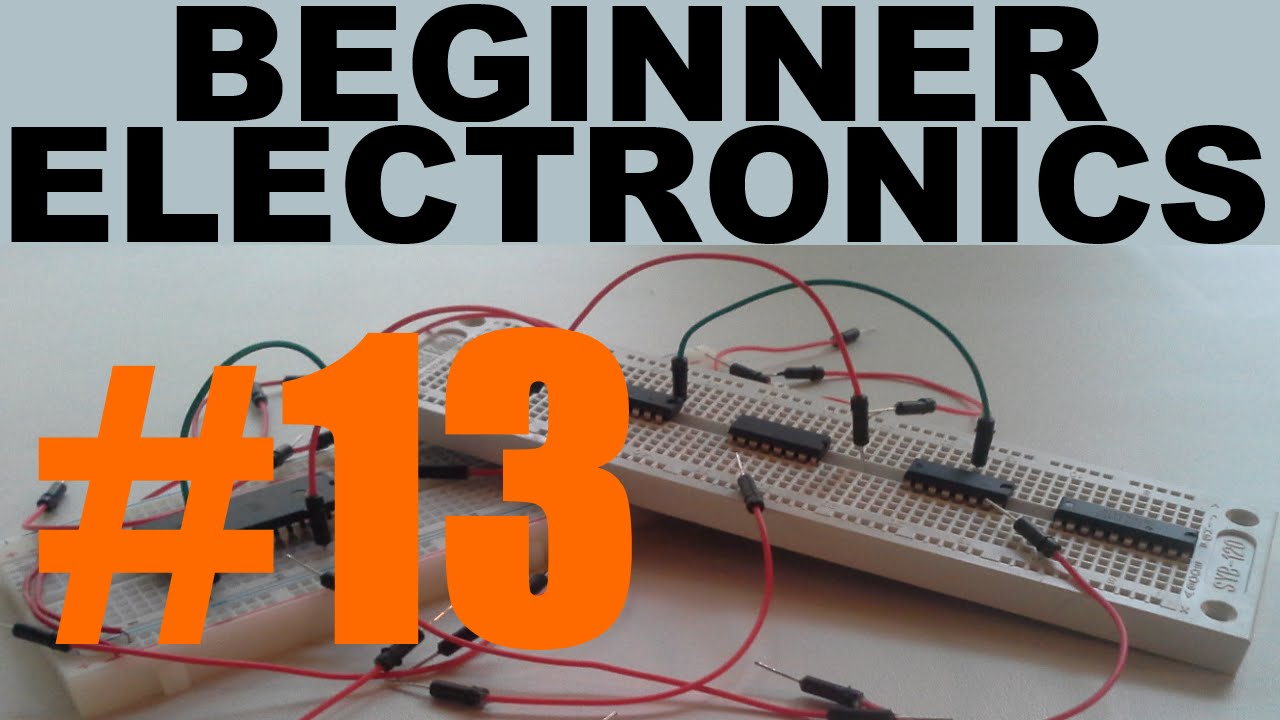 Beginner Electronics - 13 - Switches
