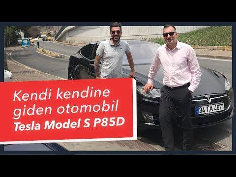 Kendi kendine giden elektrikli otomobil - Tesla Model S P85D