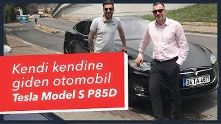 Doğan Kabak | Autonomous electric car Tesla Model S P85D