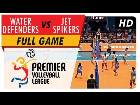 Jet Spikers vs. Water Defenders   Full Game   2nd Set   PVL Reinforced Conference   April 30, 2017