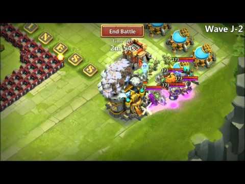 Castle Clash Top Rank Arena HBM J With Moltanica