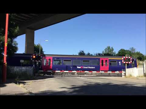 Avonmouth Dock Junction Level Crossing (Bristol) 30.06.2018