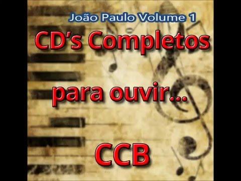 CD João Paulo Volume 1 (CDs Completos para ouvir CCB)