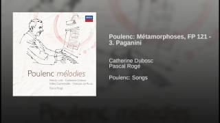 Poulenc: Métamorphoses - 3. Paganini