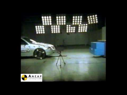Ford Falcon AU II 2000 ANCAP Crash Test (3 stars)