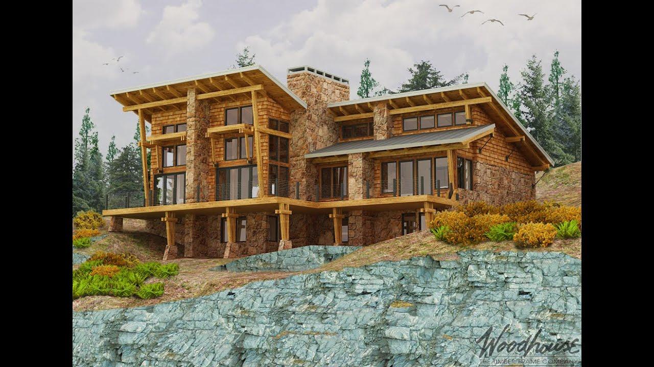 Timber Frame/Post & Beam Homes - Mountain Log Homes Of Colorado, Inc