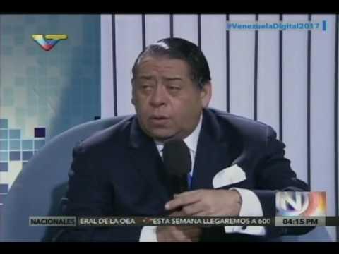Hermann Escarrá entrevistado por Jessica Sosa sobre injerencia de OEA contra Venezuela