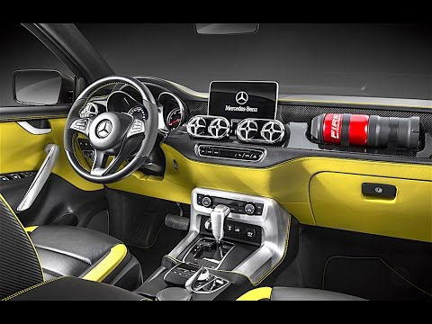 mercedes pickup interior 2017 in detail mercedes x class pickup