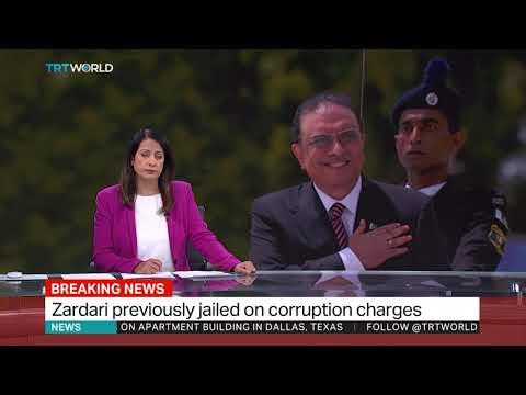 Ex-Pakistan president Zardari