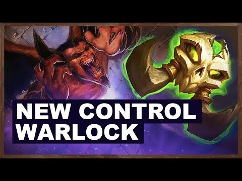 New Control Warlock | Rastakhan's Rumble | Hearthstone