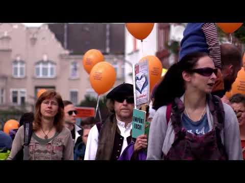 Impfen muss freiwillig bleiben! Demo in Nürnberg