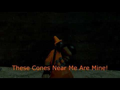 Meet Cone Pyro (GMOD Freak Fortress 2 Animation)
