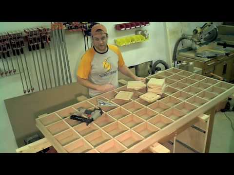 Assembly Table Workbench Assembling The Grid Youtube