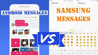 Android Messages vs Samsung Messages (RCS)