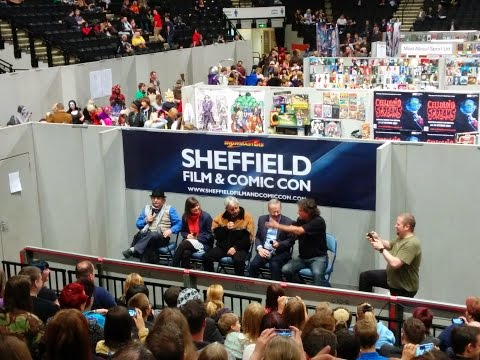 Doctor Who Q&A at Sheffield Film & Comic Con 2014