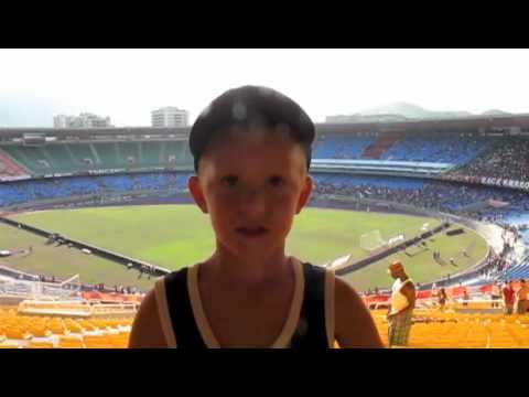 CKT - Fynn Reports from Maracana Stadium, Rio De Janeiro, Brazil