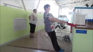 Как начать приседать с поврежденными коленями или если не хватает сил (Голтиса Исцеляющий Импульс)(Видео показывает как можно адаптировать приседания системы Голтиса