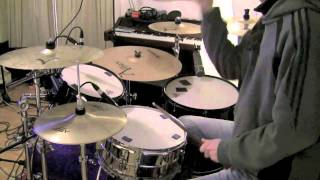 How To Play Bombtrack by Rage Against The Machine on Drums - The Drum Ninja - Lesson
