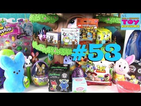 Blind Bag Treehouse #53 Unboxing | Shopkins Surprise Egg Disney Frozen Toy Story | PSToyReviews