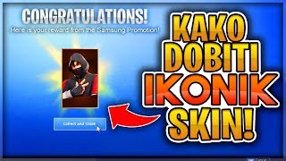 HOW TO GET AN ICONIK SKIN IN FORTNITE! (It works!) [2019]