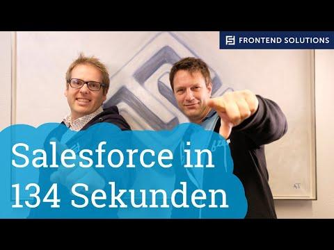 Salesforce in 134 Sekunden