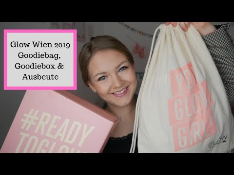 Glow Wien 2019 Goodiebag, Goodiebox & Ausbeute von den Ständen // annanas beauty