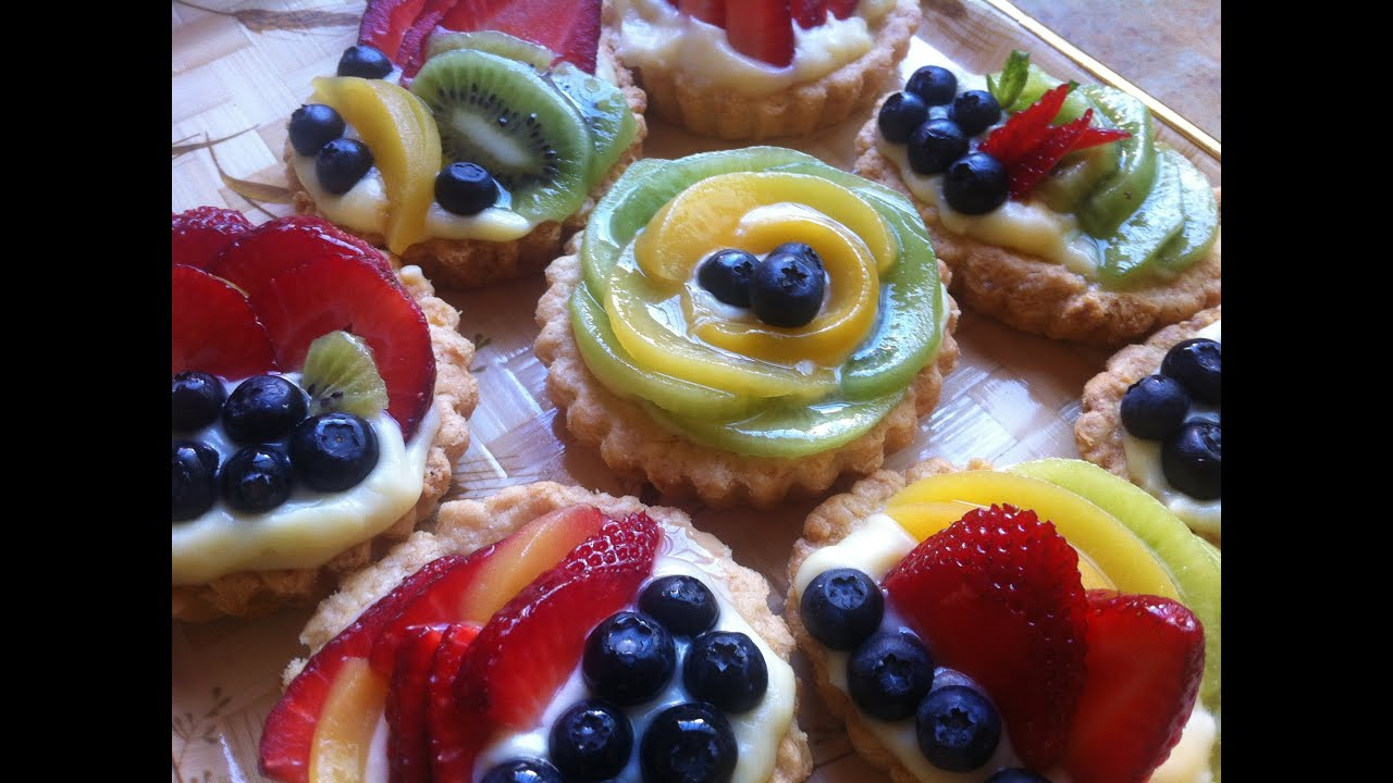 mini fruit tarts what fruit are you