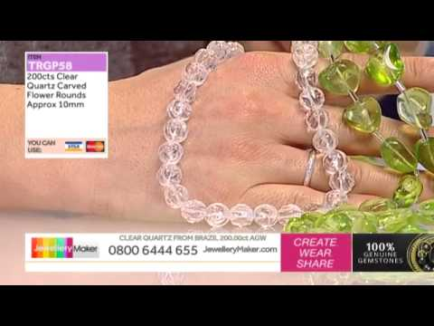 Ruby, Emerald & Sapphire strand and Amethyst for jewellery making: JewelleryMaker LIVE 29/03/2015