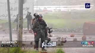 جنازة رمزية في نابلس عقب استشهاد عشرات من الشبان في غزة في يوم الأرض
