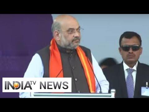 Those opposing CAA are anti-Dalits: Amit Shah in Hubli