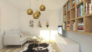 Idei de amenajare: apartament doua camere in Bucuresti - www.c…