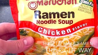 How To Make Ramen Noodles (The Right Way)