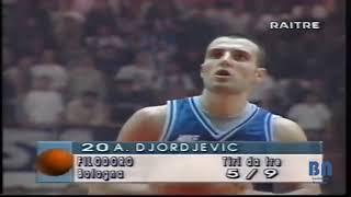 Aleksandar Djordjevic 32 Points Highlights against Varese 1995 Italia Lega Basket Play Off