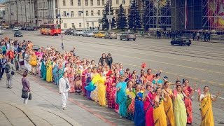 Харинама с ЕС Индрадьюмна Свами в Екатеринбурге 04.05.2015/Harinam Russia Indradyumna Swami