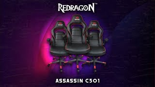 Silla Gamer Económica | Redragon Assassin C501 | 100 Kg