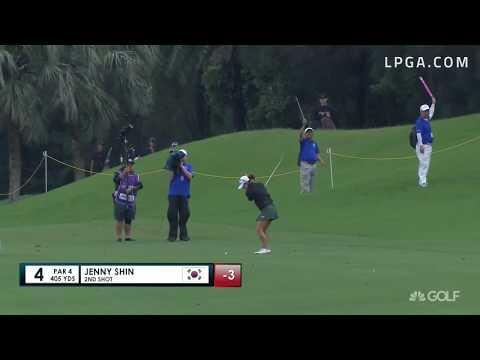 Jenny Shin Second Round Highlights - 2017 Swinging Skirts LPGA Taiwan Championship