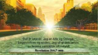 nye Jerusalem, 21 Åpenbaring 22, norske, Norwegian, bilder, himmelen, bible, hellige byen
