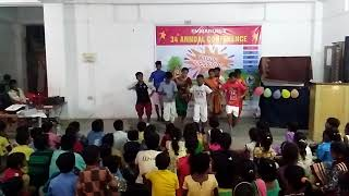 Children's Action Song / ECFC Patna 2018 / Full Masti