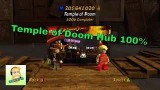 Lego Indiana Jones 2: Temple of Doom Hub 100%