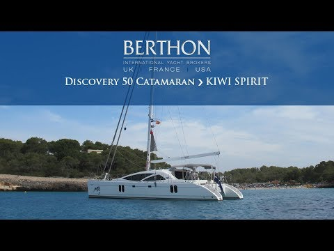 Discovery 50 Catamaran (KIWI SPIRIT) Sea Trial  - Yacht for Sale - Berthon International