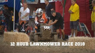 12 hour lawnmower race 2018