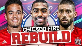 REBUILDING CHICAGO FIRE!!! FIFA 19 Career Mode