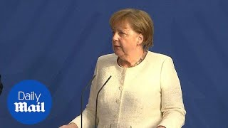 Merkel receives pressure to toughen Germany's border policy - Daily Mail