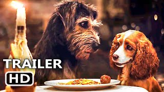 LADY AND THE TRAMP Trailer # 2 (NEW, 2019) Disney, Live Action Movie HD