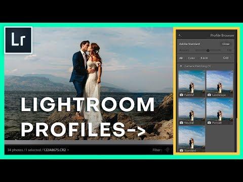 Lightroom Camera Profiles: Lightroom Quick Trick Tutorial