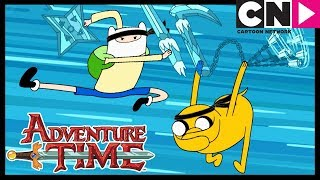 Adventure Time | Ninja's After Ice King | The Chamber of Frozen Blades | Cartoon Network